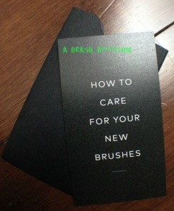 Brush care1
