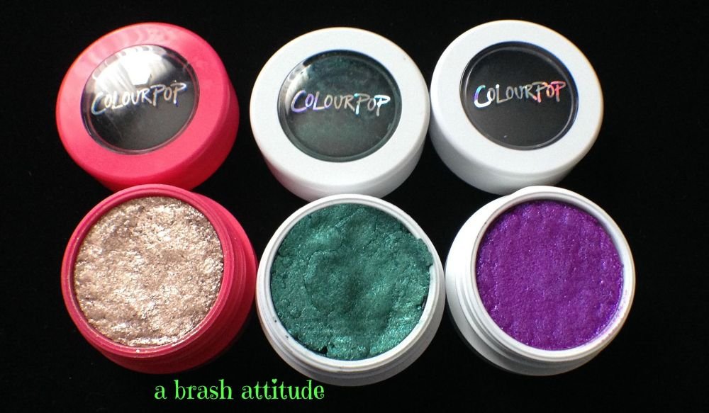 ColourPop Super Shock Eye Shadow / Pigments (3/5)
