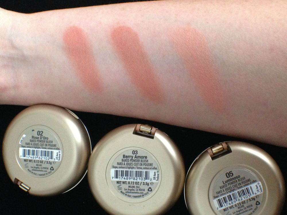 Milani Baked Blush Berry Amore Review and Comparison (5/6)