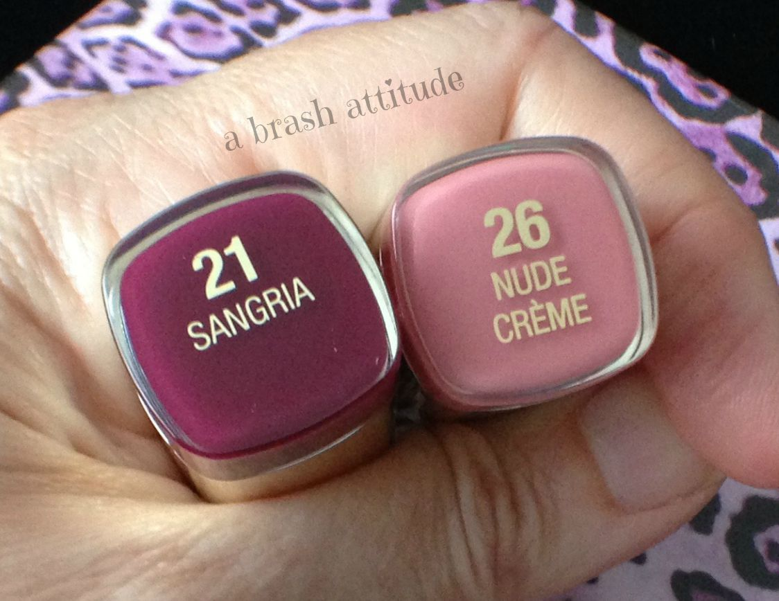 Milani Color Statement Lipsticks In Sangria And Nude Crme -5579