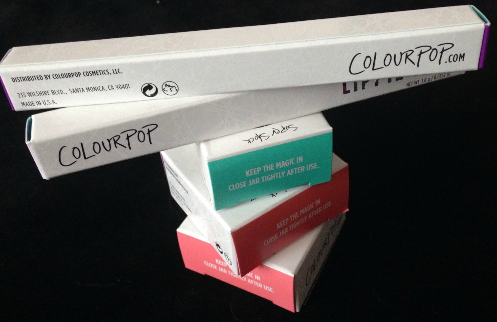 ColourPop Mini Haul November 2015 - The Lippie Stix (1/5)