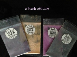 Concrete Minerals Mineral Eyeshadows, wicked, rocked, angel dust, strobelight