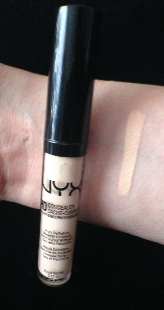 Nyx HD Concealer in Porcelain (3/3)