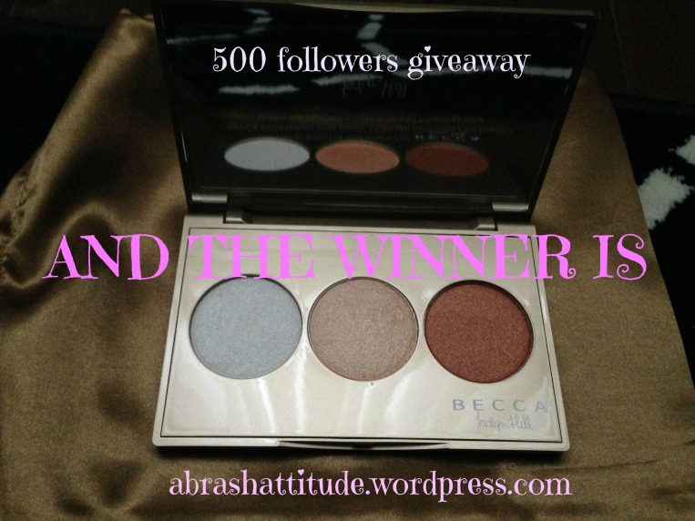 500 Followers Giveaway Winner Announcement