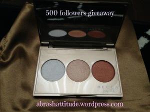 abrashattitude 500 followers giveaway