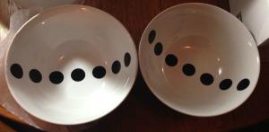 IKEA TIKKAR bowls