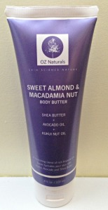 Oz Naturals Sweet Almond & Macadamia Nut Body Butter