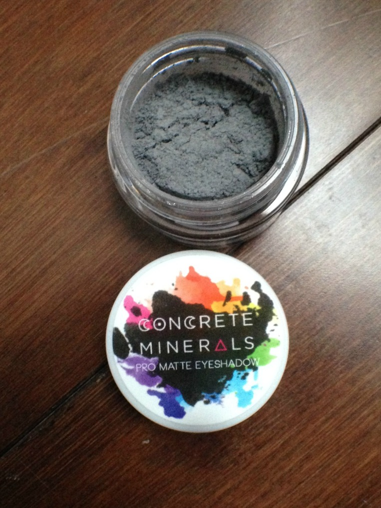 Concrete Minerals Pro Matte Eyeshadow - Wednesday