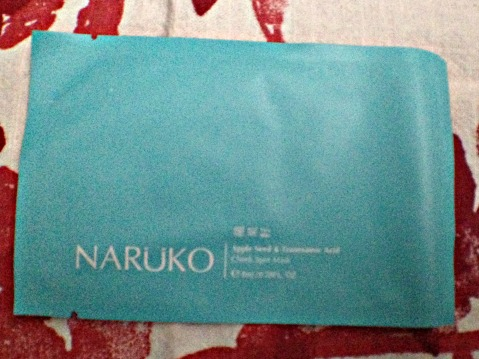 Naruko Apple Seed & Tranexemic Acid Cheek Spot Mask