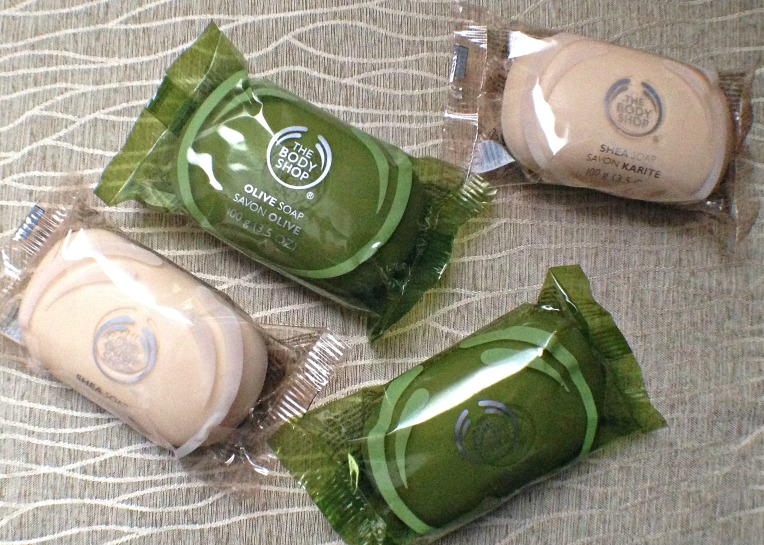 The Body Shop Shea Soap and Olive Soap