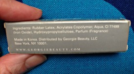 Georgie Beauty black lash adhesive