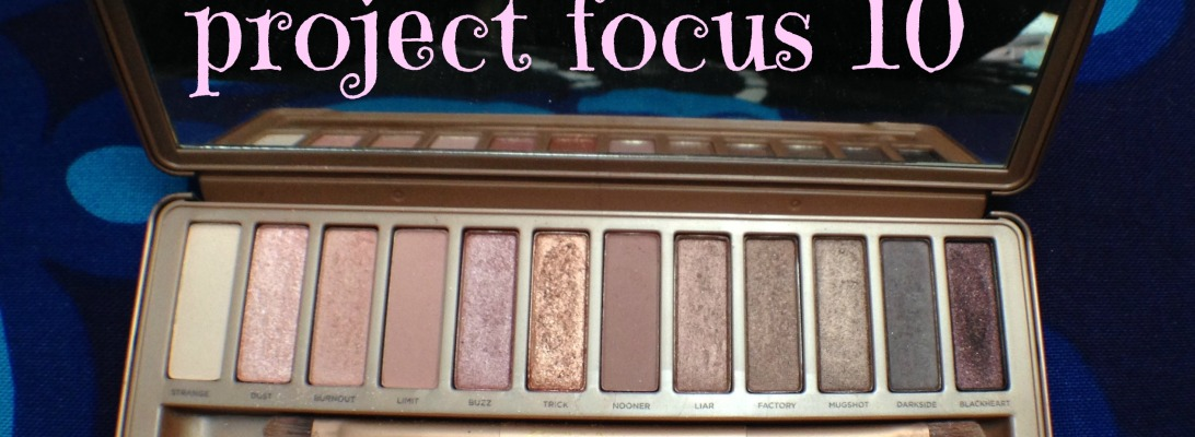 Project Focus 10 Collab - Urban Decay Naked 3