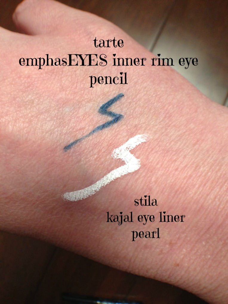 Swatching Eyeliners