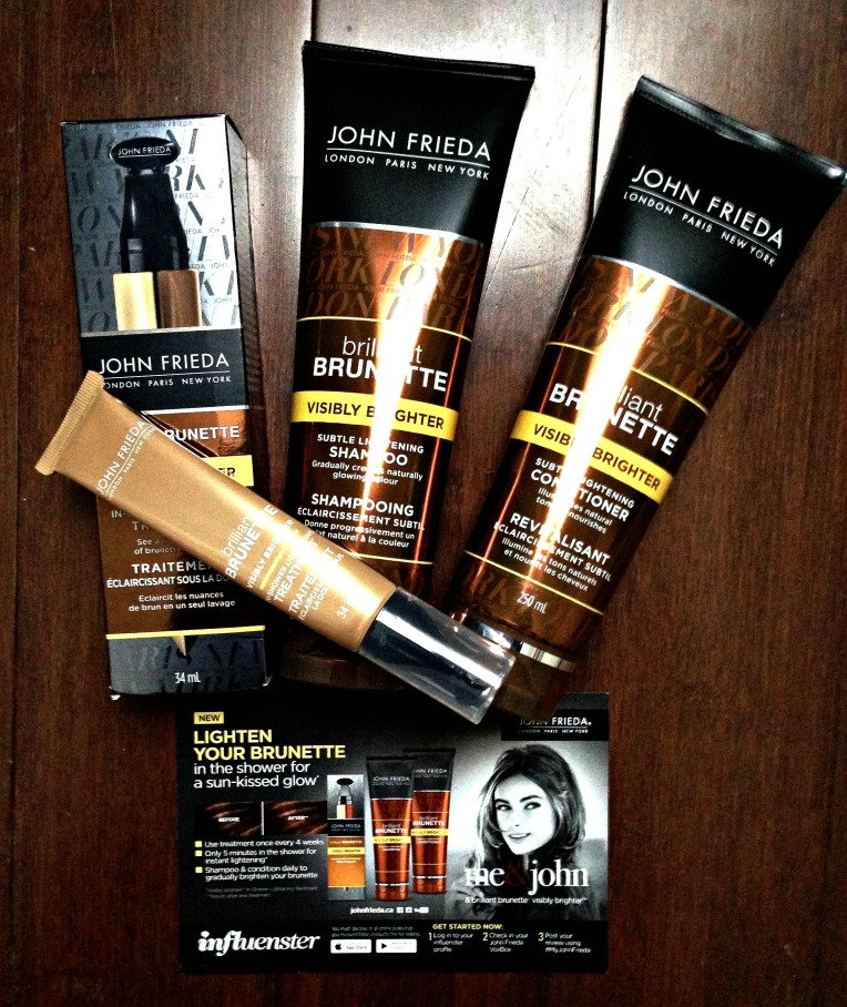 #MyJohnFrieda Brilliant Brunette Visibly Brighter