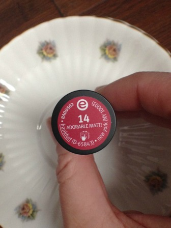 Essence Cosmetics Longlasting Lipstick Adorable Matt!