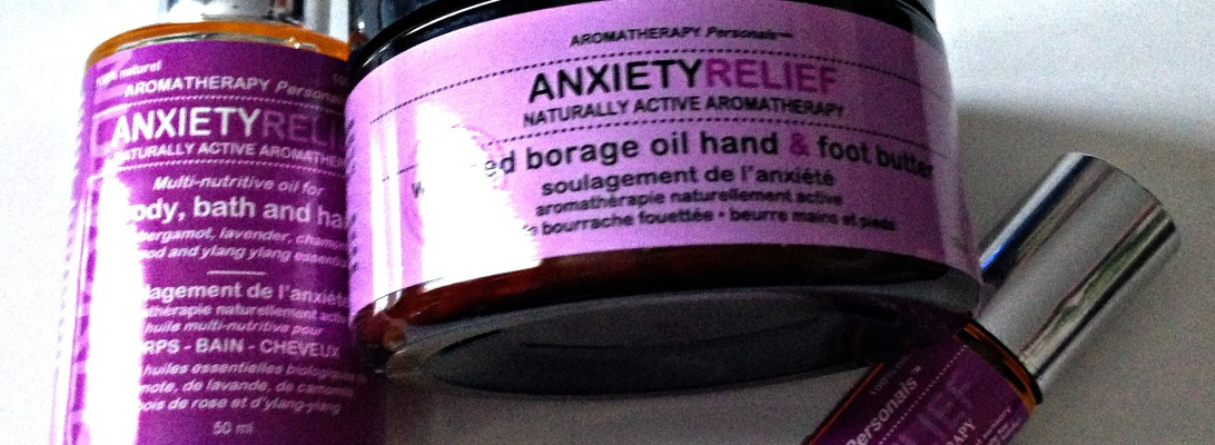Nuworld Botanicals Anxiety Relief Aromatherapy Personals