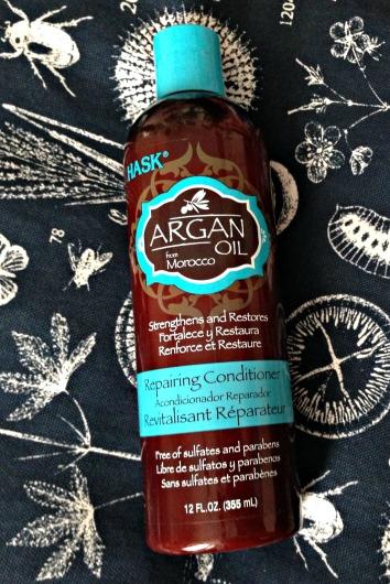 Hask Argan Oil Reparing Shampoo & Conditioner