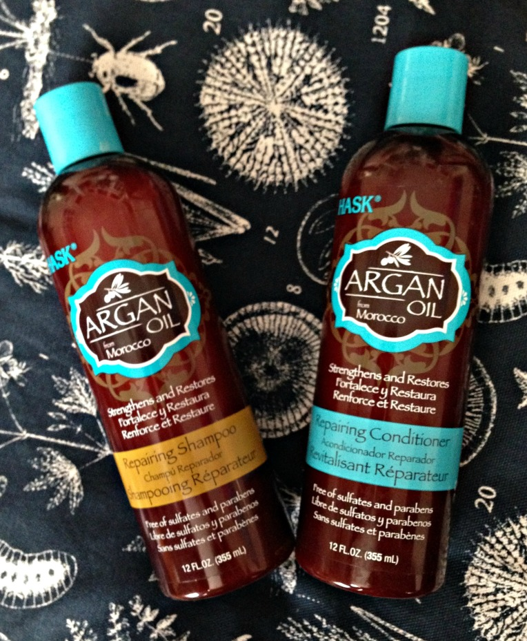 Hask Argan Oil Reparing Shampoo & Conditioner