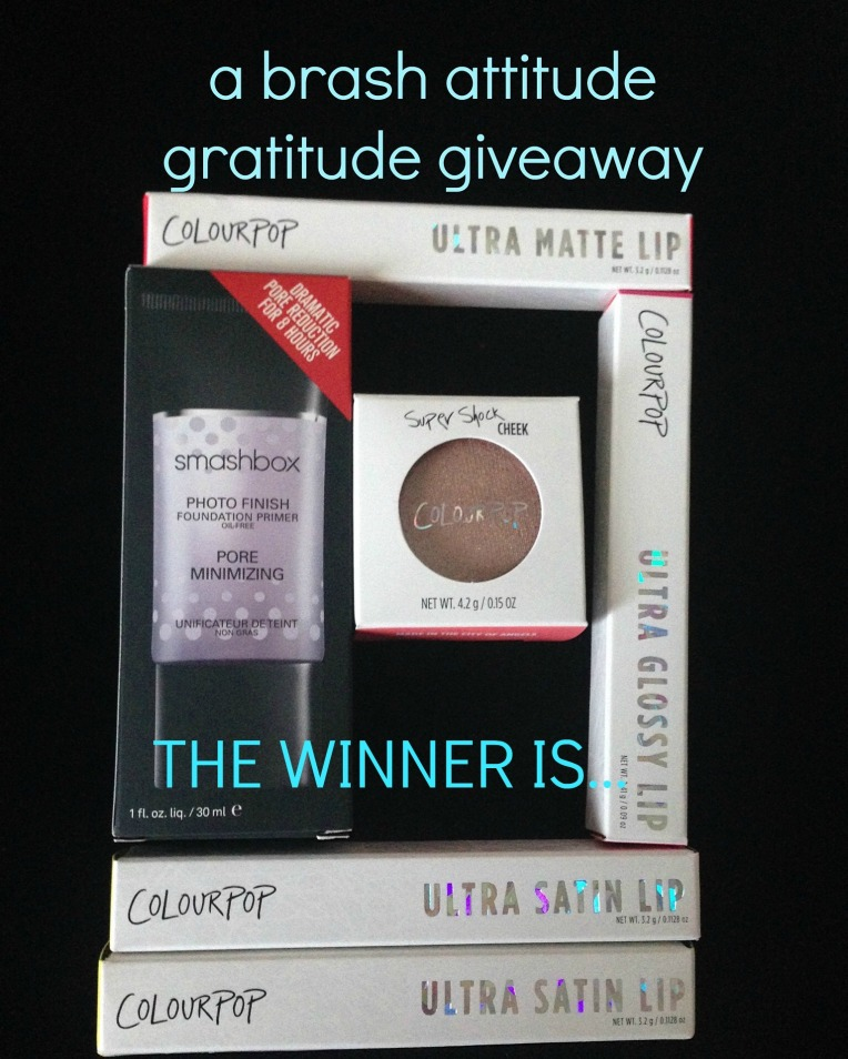 abrashattitude gratitude giveaway winner