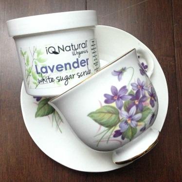 IQ Natural Skincare Lavender Sugar Scrub