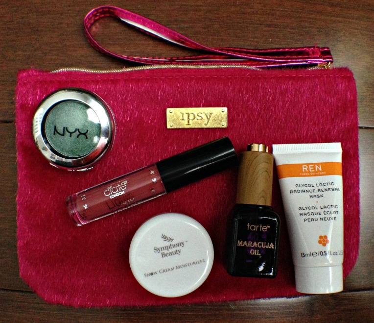 Ipsy Glam Bag Dec 2016