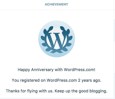a brash attitude 2nd blogiversary