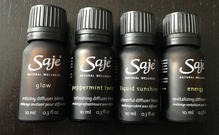 Saje Diffuser Blends