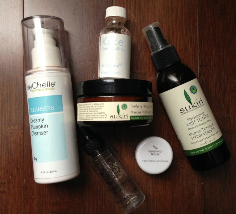 Empties Mar 2017 - skincare