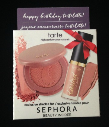 Sephora Beauty Insider Birthday Gift 2017