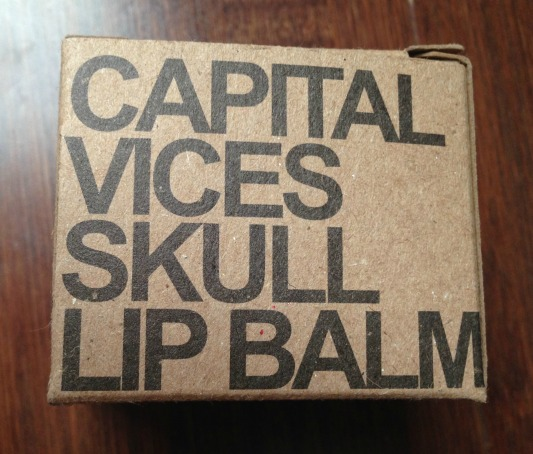 Rebels Refinery Capital Vices Skull Lip Balm