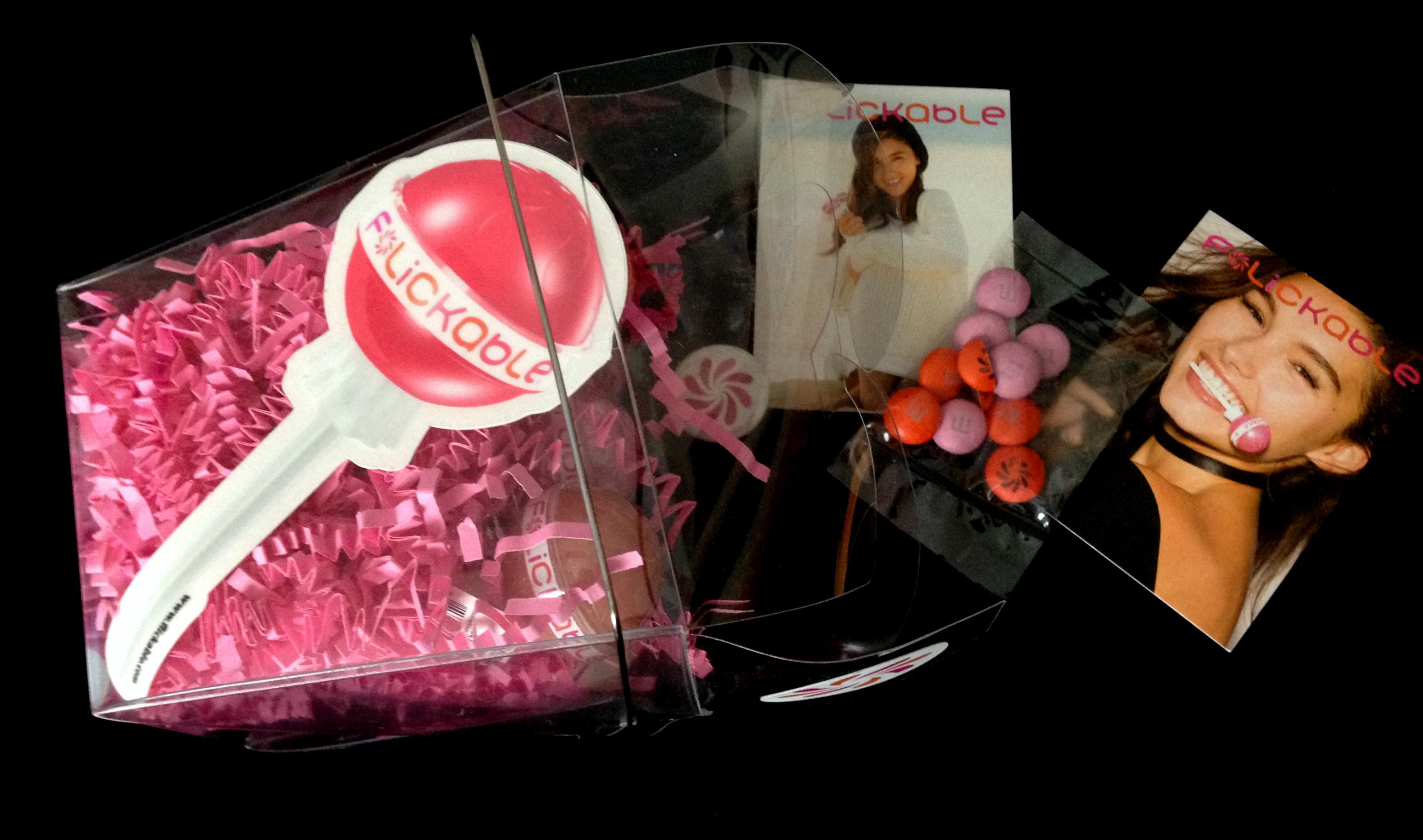 Flickable Lip Gloss Pops