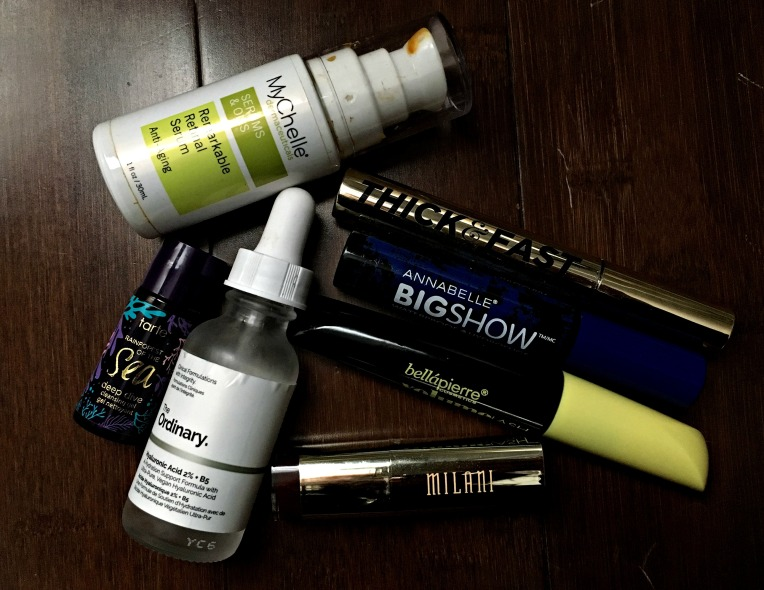 Aug Empties 2017 3