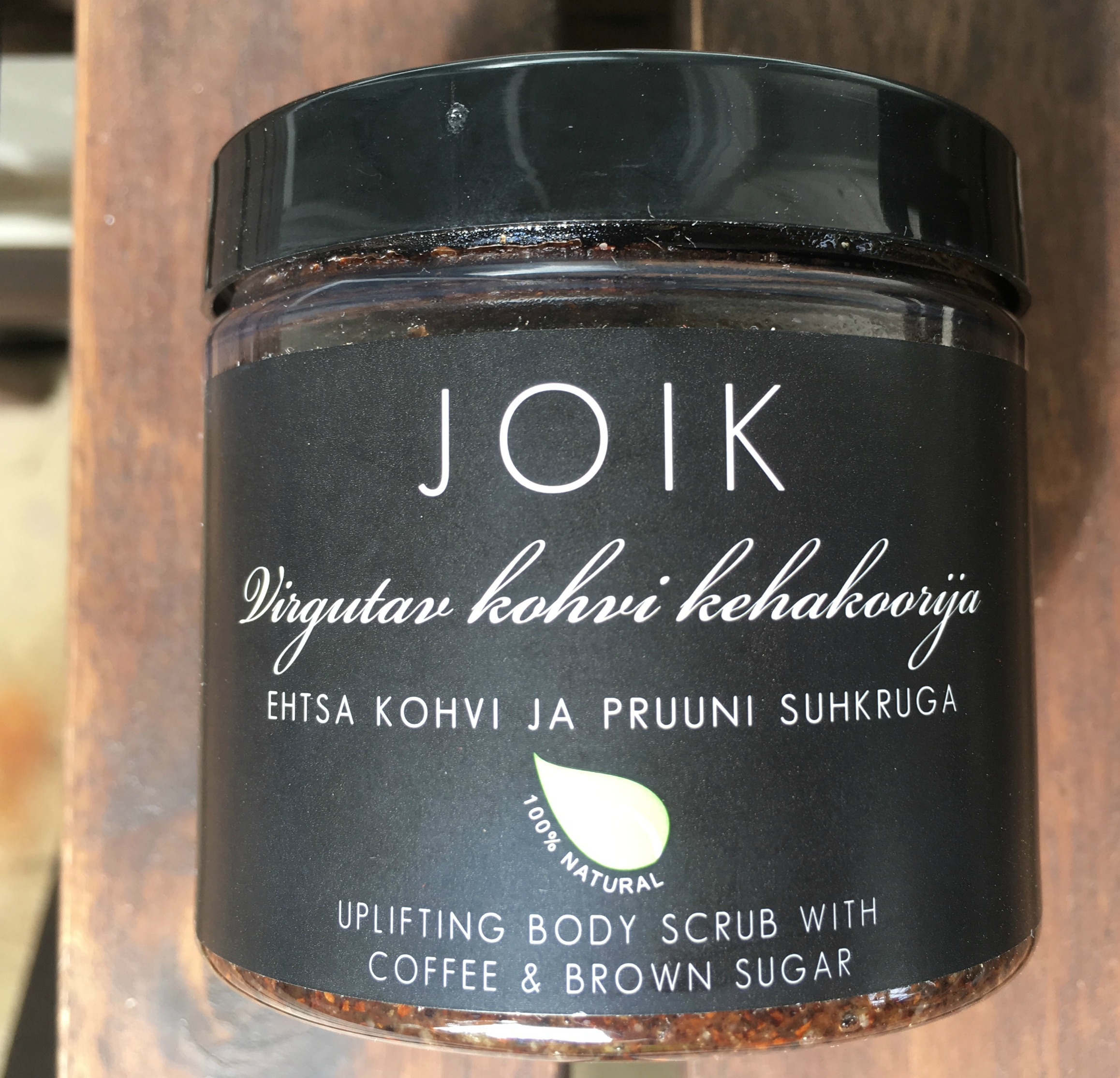 Joik Uplifting Coffee Body Scrub
