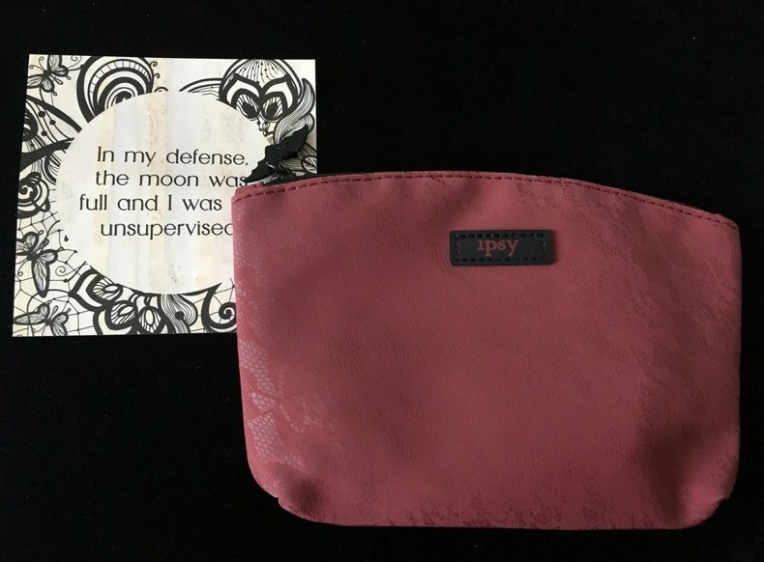 Ipsy GlamBag Oct 2017