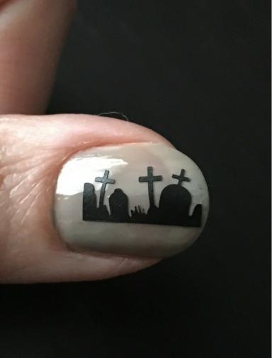 Nail Polish Canada Graveyard Nail Vinyls