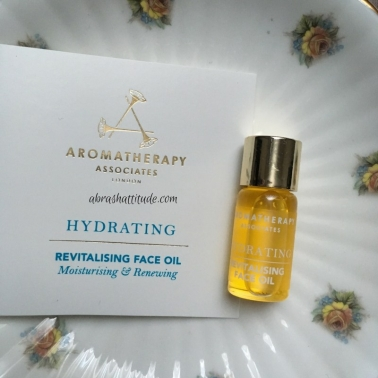 Aromatherapy Associates Hydrating Revitalising Face Oil