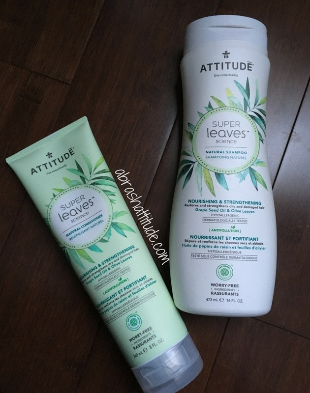 Attitude Super Leaves Nourishing & Strengthening Shampoo & Conditioner