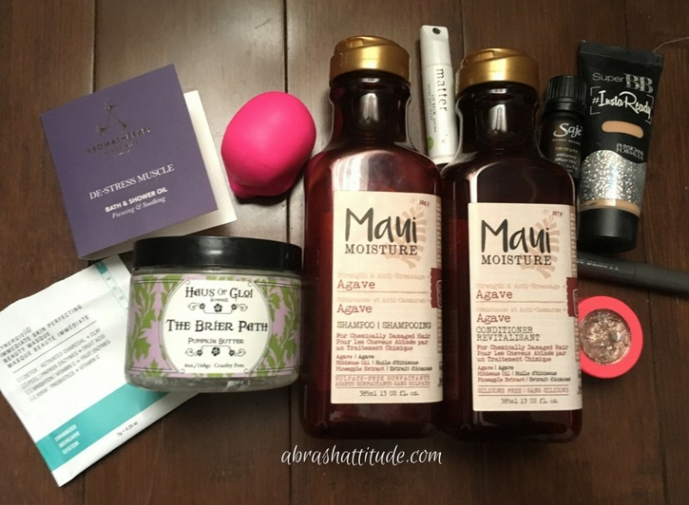 January 2018 Empties