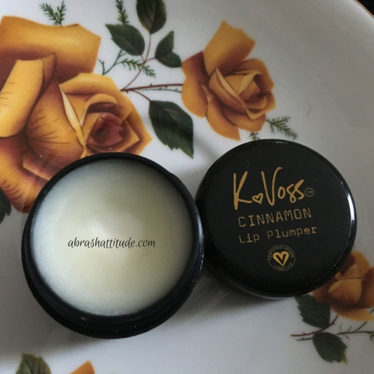 K Voss Cinnamon Lip Plumper