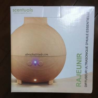 Scentuals Rejuvenate Ultrasonic Diffuser