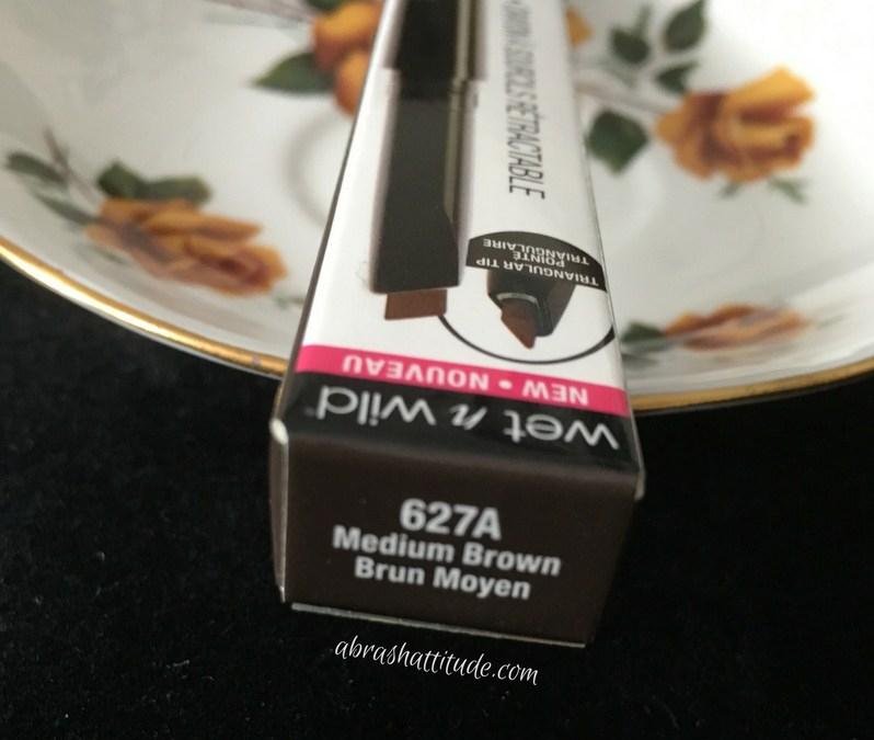 Wet N Wild Ultimate Brow Retractable Review Medium Brown A Brash