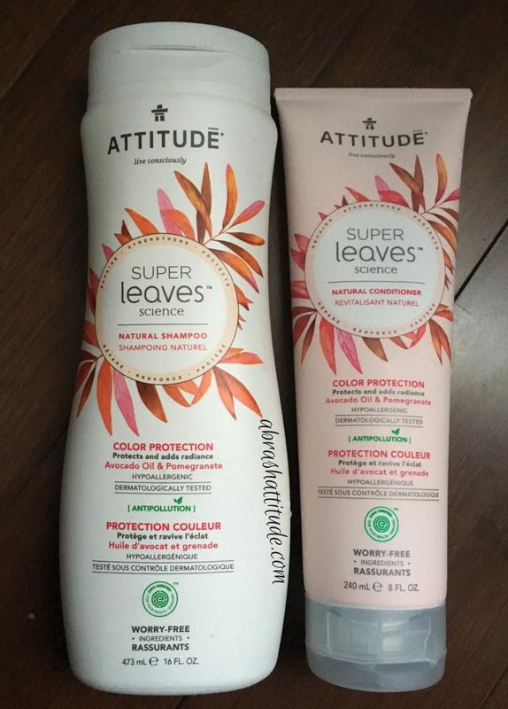 Attitude Super Leaves Color Protection Shampoo & Conditioner