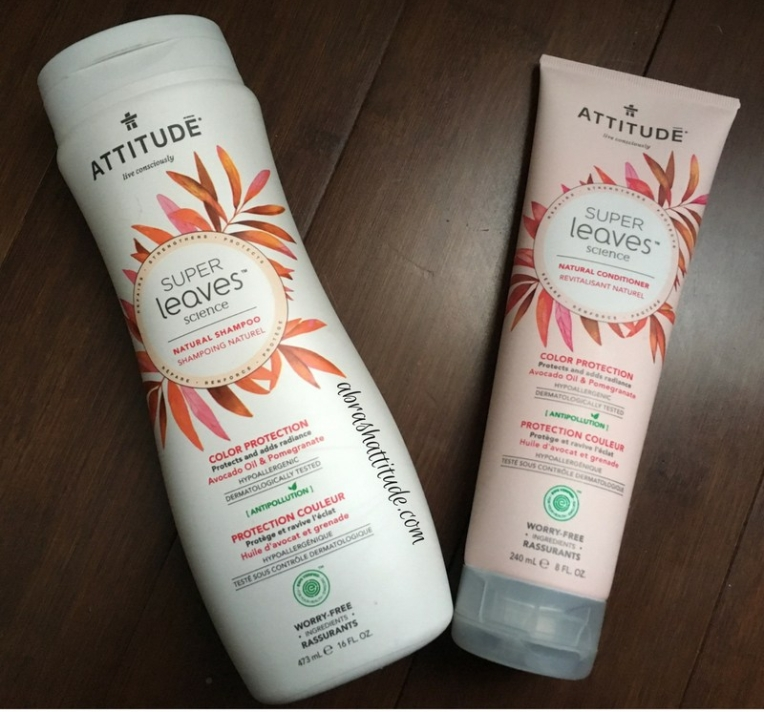 Attitude Super Leaves Color Protection Shampoo & Conditioner