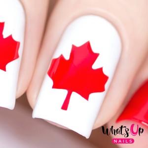 Nail Polish Canada - Canada Day Nail Vinyls