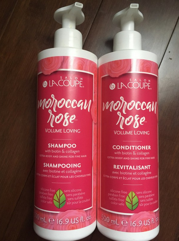 LaCoupe Moroccan Rose Volume Loving Shampoo & Conditioner