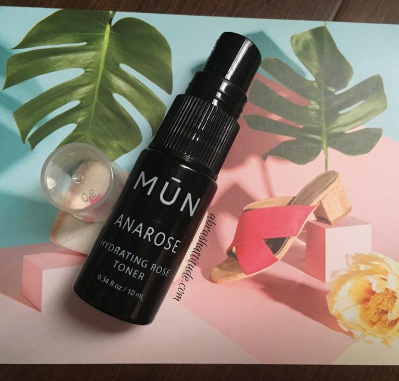 Mun Anarose Hydrating Rose Toner