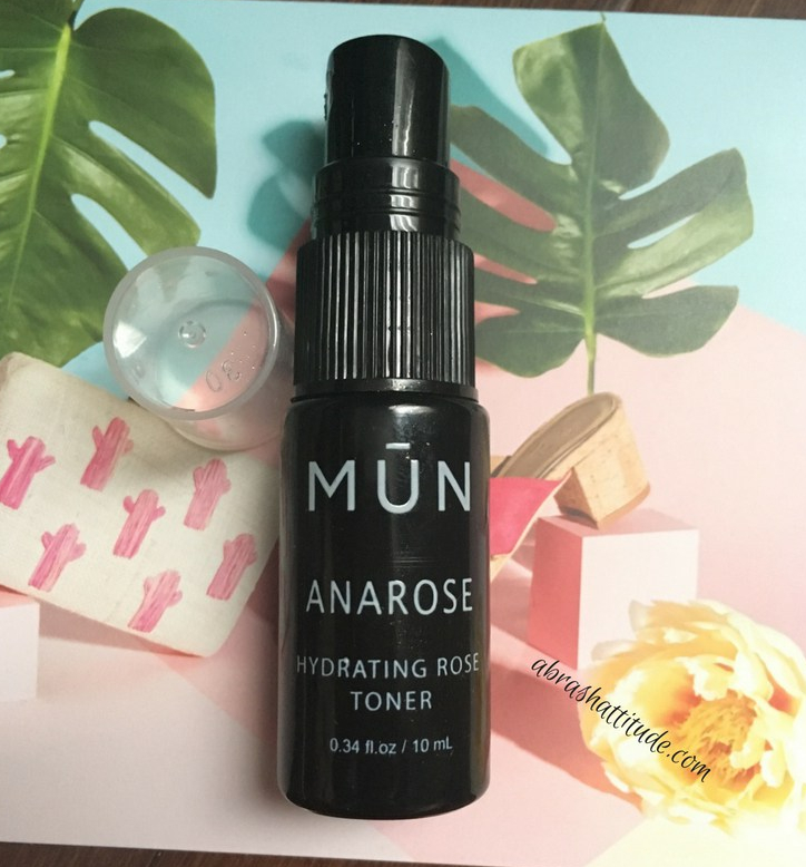 MUN Anarose Hydrating Rose Toner