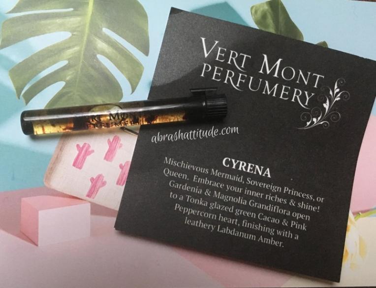 Vert Mont Perfumery Cyrena