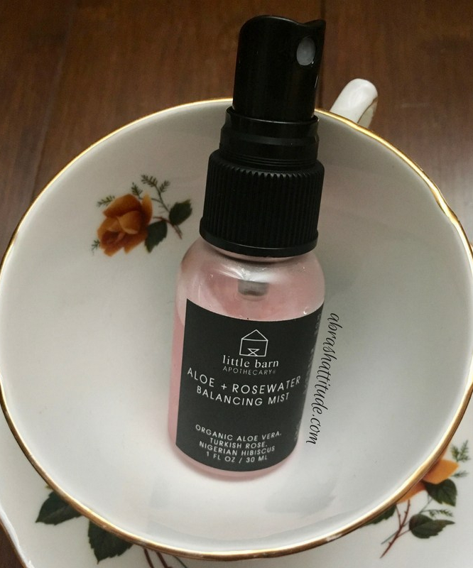 Little Barn Apothecary Aloe + Rosewater Balancing Mist