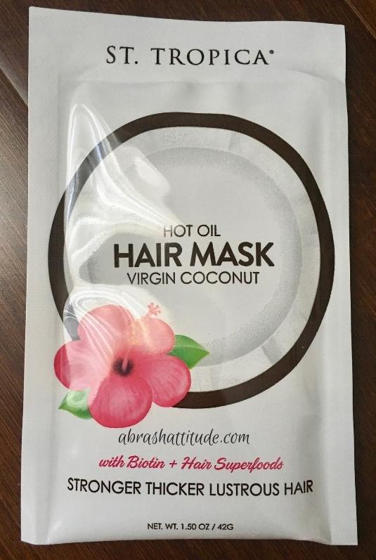 St. Tropica Hot Oil Hair Mask